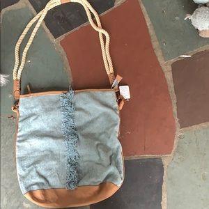 Never used free people bag